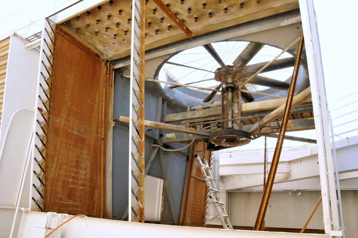 Cooling Tower Refurbishing Vs  The Cost Of Cooling Tower